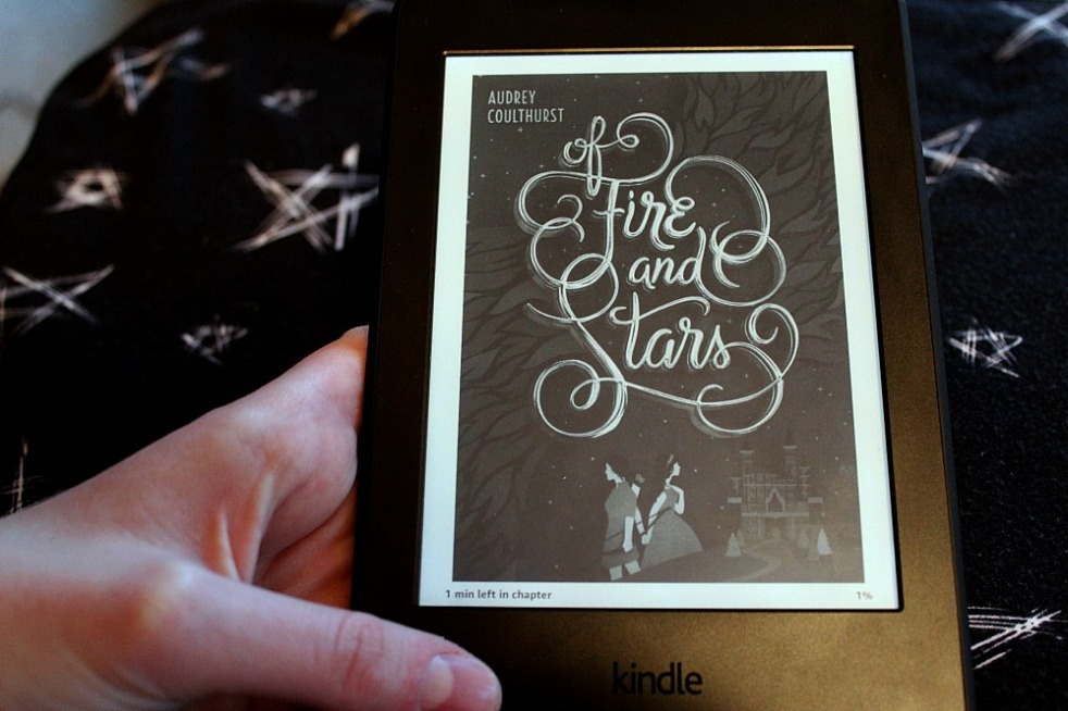 Of Fire and Stars Cover on Kindle